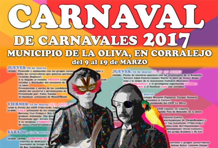 ¡El Municipio de La Oliva está de CARNAVAL!